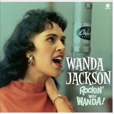Rockin with Wanda [Bonus Tracks] by Wanda Jackson (Vinyl, Dec-2012, Wax Time)