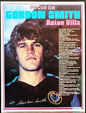 FOOTBALL PLAYER FOCUS GORDON SMITH ASTON VILLA SHOOT