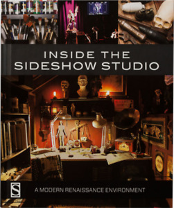 Inside Sideshow Studio Book NEW