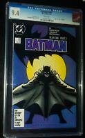 BATMAN #405 Year One Part 2 1987 D.C. Comics CGC 9.4 NM