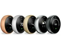 Google Nest 3rd Generation Smart Learning Thermostat