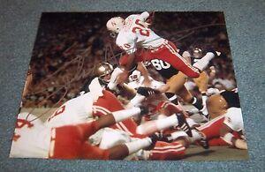 Nebraska Huskers Johnny Rodgers Signed Autographed 8x10 Photo 1972 Heisman A