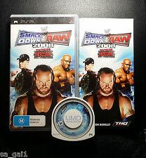 WWE Smackdown vs Raw 2008 (Sony PSP Game, 2007) - FREE POSTAGE