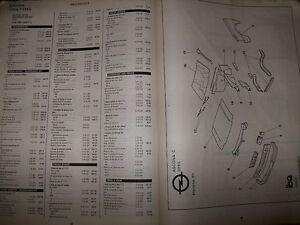 Volkswagen VW POLO GOLF TRANSPORTER :Catalogue EA 12-88