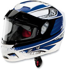 Z1R SNOWMOBILE FULL FACE VENOM SOLSTICE ANTI-FOG SHIELD SNOW HELMET BLUE LARGE L