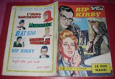RIP KIRBY SPADA -N°8 -DEL 1963 RARO LIRE 100 SUPPLEMENTO SUPER ALBO alex raimond