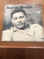 AARON NEVILLE Warm Your Heart ORIGINAL UK  LP Release Dutch Pressing FedEx Ship