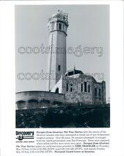 1996 Guard Tower Alcatraz Prison California Press Photo