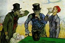 Vincent Van Gogh The Drinkers Mural inch Poster 36x54 inch