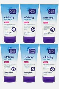 Clean & Clear Exfoliating Daily Wash Oil-Free - 150ml Pack of 6