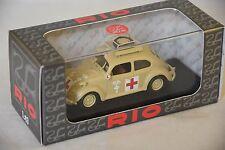 RIO 4525 - Volkswagen Coccinelle Ambulance armée Africaine - 1941  1/43