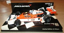 F1 1/43 MCLAREN M26 FORD MASS 1977 TOBACCO CONVERSION MINICHAMPS