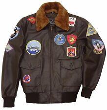 Tom Cruise Pete Maverick Top Gun Flight Bomber Jacket Jet Pilot Leather Jacket