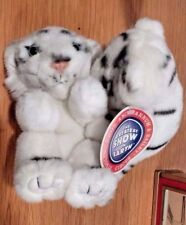 New Circus White Tiger Cubs Plush The Greatest Show on Earth Ringling Bros Cats