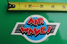 Air Waves Surfboard Hand Glide Wind Water Rare V11a Vintage Surfing Sticker