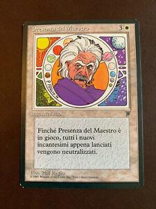 MTG 1-Italian Presence of the Master-NM Legends Edition Magic the Gathering