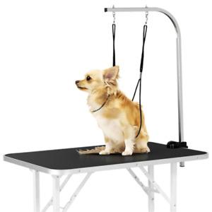 Klappbarer Haustierpflegetisch Trimmtisch für Hunde/Katzen Schertisch Fellpflege
