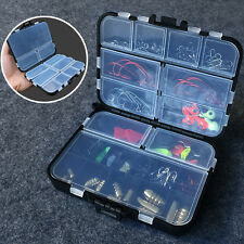 127Pcs Fish Bait Pack Kit Versatile Fishing Tackle Hook Lure Accessories W/ Box