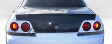 Clearance ! Nissan R33 Skyline OEM style fiber glass Trunk Boot lid bodykit