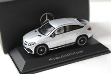 1:43 Spark Mercedes GLE 63 AMG Coupe silver DEALER NEW bei PREMIUM-MODELCARS