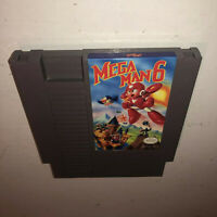 VG COND Nintendo NES Game MEGA MAN 6 Cleaned Super Fun RARE! VI Awesome