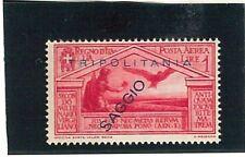 TRIPOLITANIA  -  nice stamp overprinted SAGGIO: SPECIMEN! - BIRDS eagles