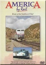 America by Rail Route of Southwest Chief DVD NEW Chicago to Los Angeles Amtrak