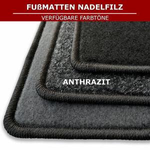 Automatten für Mitsubishi Colt 6 Z3/Z2 3tür (2004-2012) - Anthrazit Nadelfiz 4tl