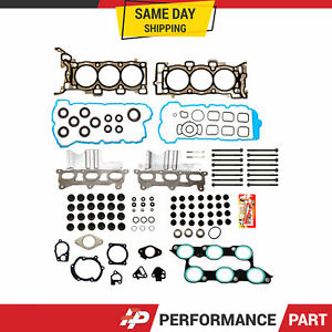 Head Gasket Bolts Set Fit 09-16 Buick Enclave Chevrolet Tranverse GMC 3.6L