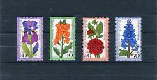 Berlin Mi.-Nr. 524-527 postfrisch Gartenblumen - b5915