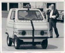 1974 Wire Photo Zagato Italian Electric Car Chicago