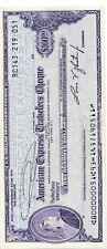 American Express Travelers Cheque Check $100 American Dollars Lot of (11) $1100