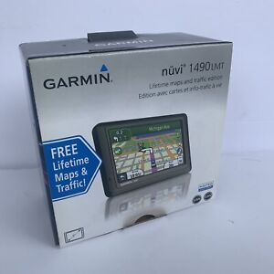 Garmin Nuvi 1490 LMT 5-Inch Widescreen Portable GPS Navigator W/ SD CARD