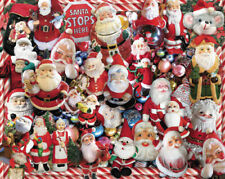 CRAZY SANTAS 1000 PIECE JIGSAW PUZZLE by WHITE MOUNTAIN ~ NEW & SEALED