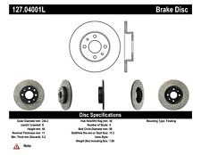 StopTech Front & Rear Left Disc Brake Rotor for 96-17 Panda & 500 / Ram 700/ 146