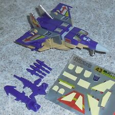 Transformers Takara 43 BLITZWING Reissue G1