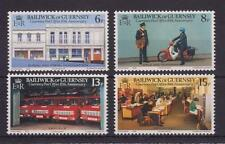 GUERNSEY 1979 10TH ANNIVERSARY POST OFFICE STAMP SET MNH SG 207-210