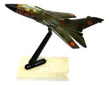 modello aereo da tavolo panavia tornado 51-06 anni 60 su base di marmo modellino