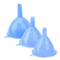 3Pcs/set Plastic Funnel Kitchen Tool Lab Car Gadget Oil Water SALE Liquid N2S9