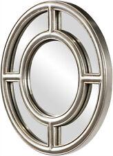 Howard Elliott Grisham Round Mirror -    HWE - 60170, Beautiful Unique Accent.