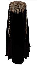 MOROCCAN DUBAI KAFTANS ABAYA DRESS VERY FANCY LONG GOWN MS10199