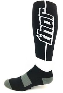Sock Thor S10 MX Long Black White Gray 3431-0128 and 3431-0127