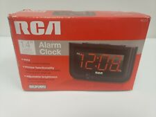 Digital Alarm Clock Home Decor Large Red LED Display Big Numbers Bedroom Clock