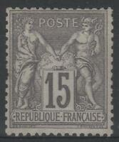 """FRANCE STAMP TIMBRE YVERT N° 66 """" SAGE 15c GRIS TYPE I """" NEUF xx A VOIR  P063"""