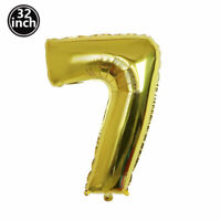 2021 NEW Golden Crown Number Aluminum Foil Balloon Birthday Party Decoration