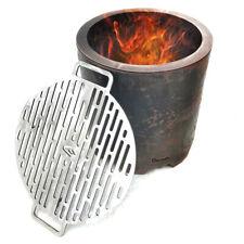BBQ Smoke Free Fire Pit Portable Stove Modern Firewood Log Wood Fireplace Grill