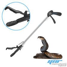 Ynr Snake Catcher Tongs Reptile Grabber Stick Tool Handling Wide Jaw Aluminum