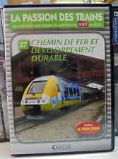 27 dvd la passion des trains atlas chemin de fer et dévelopement durable