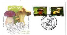Sobre Primer día España Micología Setas Boletus  Cantharellus año 2009
