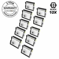 10PK LC51BK LC-51 for Brother BLACK Ink Cartridge Intellifax 2480C 1860C 1360c